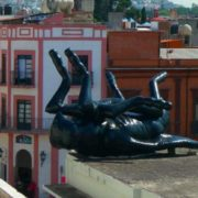 Monument to the fly in Queretaro, Mexico