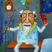 Painter Vorontsov Leonid. Mosquito