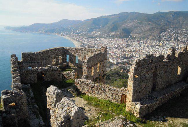 Alanya fortress