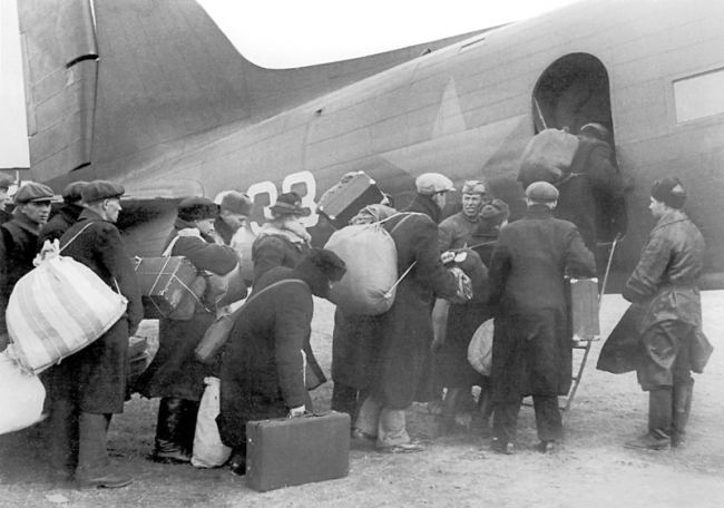 Evacuation from besieged Leningrad