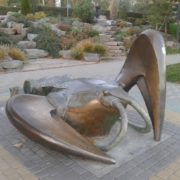 Monument to crayfish in Rostov-on-Don, Russia