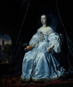 Henrietta Maria, Anthony van Dyck, XVII century