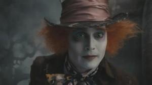 Johnny Depp as the Mad Hatter in Alice in Wonderland by Tim Burton, 2010