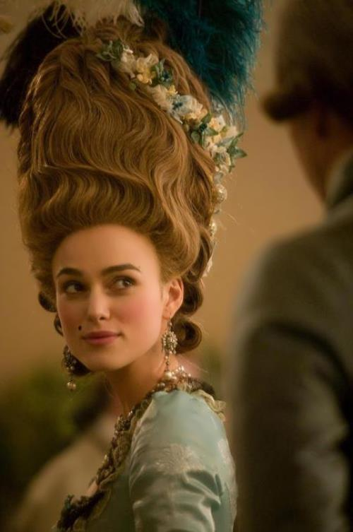 Keira Knightley in The Duchess, Saul Dibb, 2008