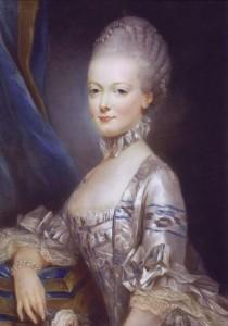 Marie Antoinette, Joseph Ducreux, 1769
