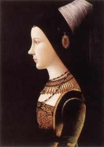 Mary of Burgundy, Michael Pacher, 1490