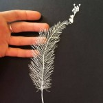 Wonderful paper sculptures by M. White