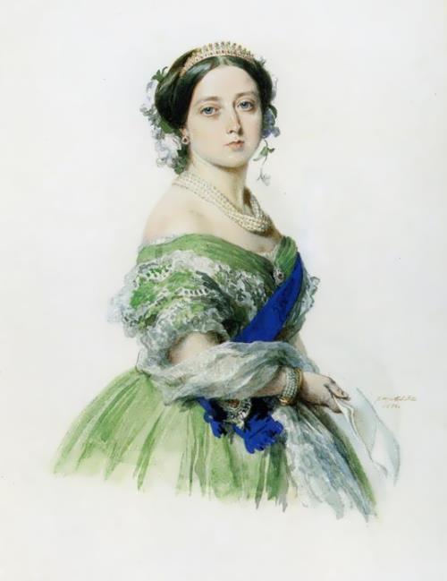 Queen Victoria, Franz Xaver Winterhalter, 1855