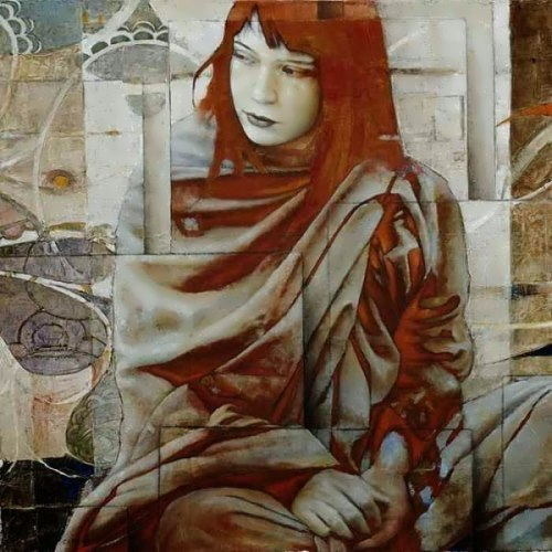 Figures and Geometry by Italian artist Sergio Cerchi