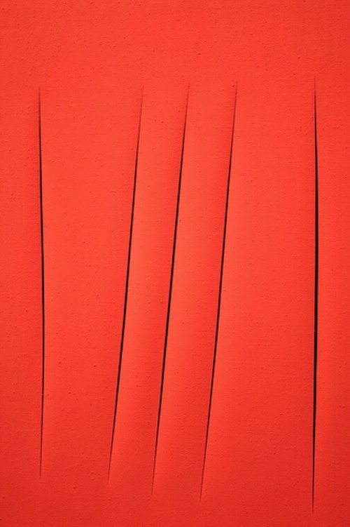 Spatial Concept Waiting by Lucio Fontana