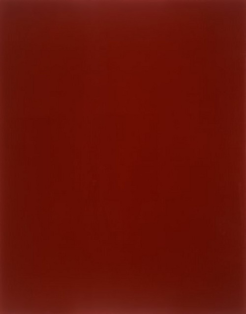 The blood-red mirror by Gerhard Richter