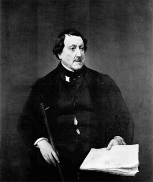 Bright and Mysterious Gioachino Rossini