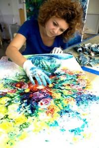 Iris Scott is creating her masterpiece