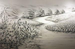 Wonderful landscape by talented artist Judith Ann Braun