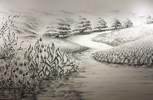 Wonderful landscape by talented artist Judith Ann Braun