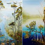 Voluminous Paintings by Justin Gaffrey
