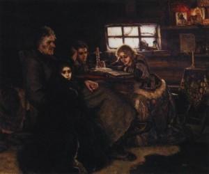 Menshikov in Berezovo, 1883