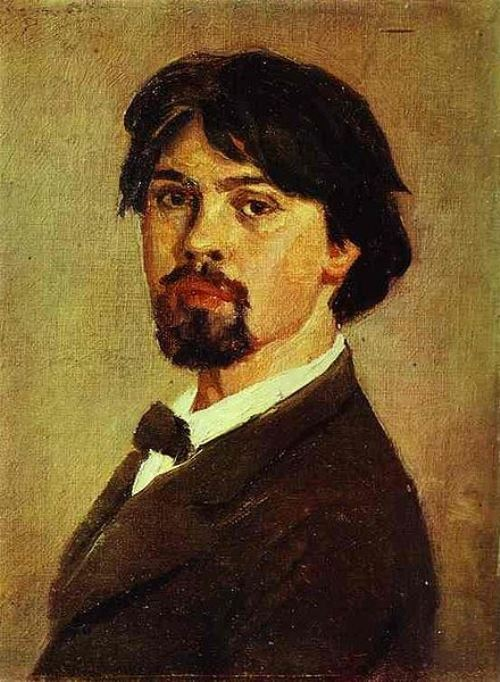 Vasily Surikov. Self Portrait. 1879