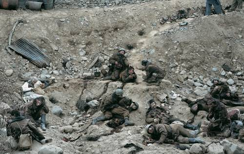 Dead Troops Talk. Jeff Wall