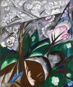 Natalia Goncharova. Flowering Trees