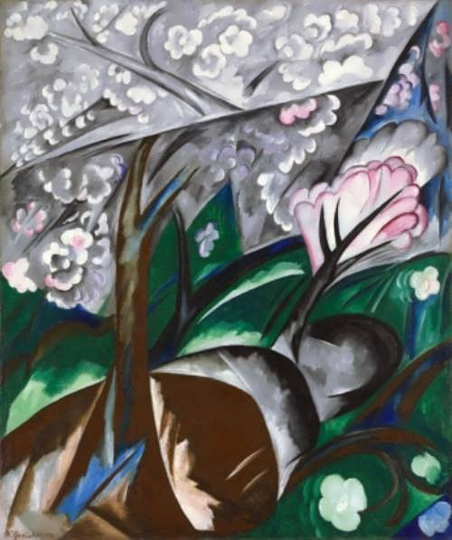 Natalia Goncharova. Flowering Trees