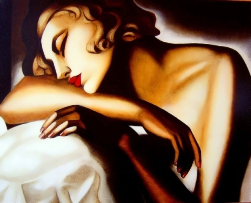 Tamara de Lempicka. Sleeping