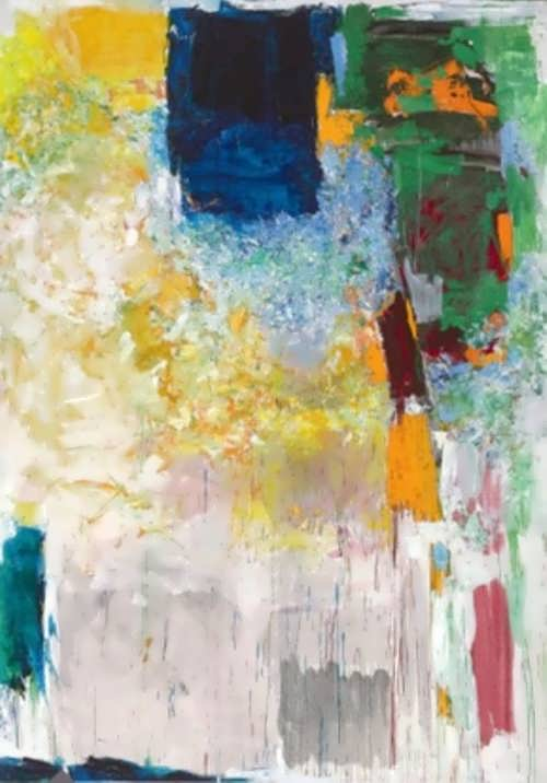 Joan Mitchell. Salut, Sally!