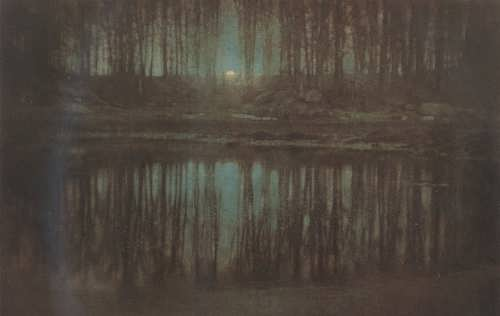 The Pond - Moonlight. Edward Steichen