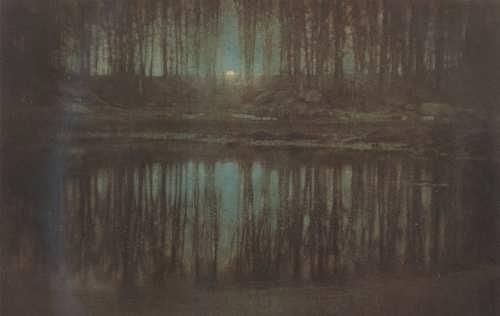 The Pond - Moonlight. Edward Steichen