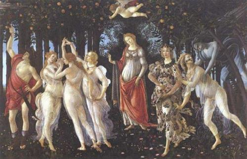 Spring by Botticelli