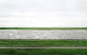 Rhine II. Andreas Gursky