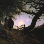 Caspar David Friedrich, Man and Woman Contemplating the Moon
