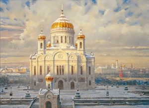 Vasily Nesterenko. Cathedral of Christ the Savior