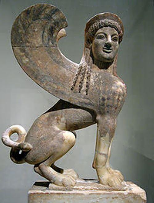 Statue of Sphinx