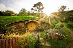 The house of hobbits