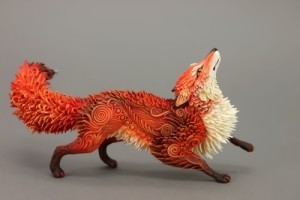 Fairy tale creature by Russian artist E. Hontor