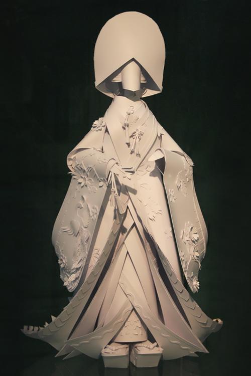 Ethnic Wedding Dress. Japan