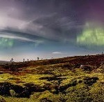 Northern Lights by Russian photographer V. Zhiganov