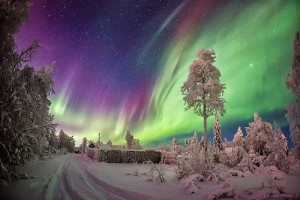 Aurora by famous photographer V. Zhiganov