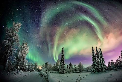 Aurora by famous photographer V. Zhiganov