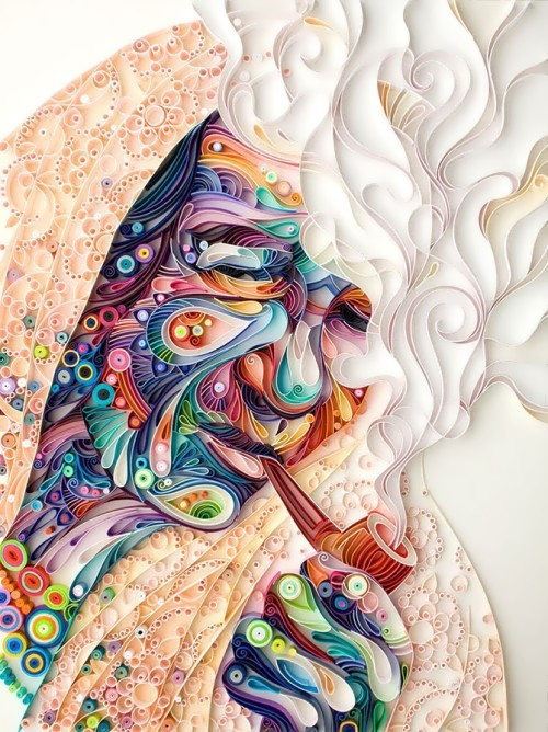 Yulia and her wonderful world of quilling