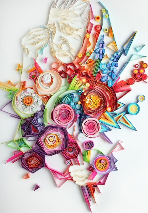 Amazing works of art without the use of toxic paints