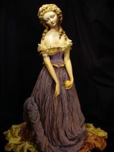 Beautiful doll by talented artist Yu. Sochilina