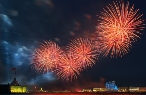 Wonderful celebration in St Petersburg