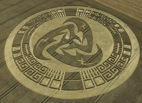 Mysterious Crop Circles