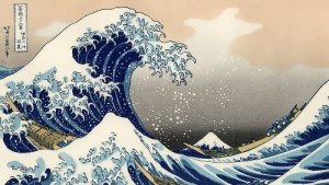 Katsushika Hokusai. Great Wave off Kanagawa
