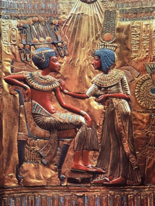 Tutankhamun and Anhesenamon