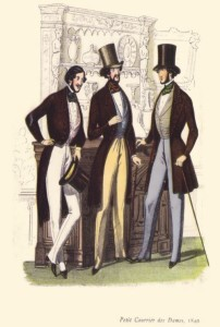Victorian Men Fashion