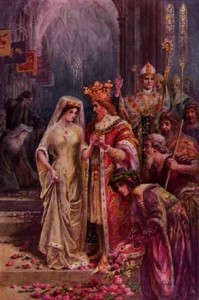 Marriage of King Arthur and Guinevere