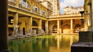 The Great Bath is a wonderful example of Roman art and architecture.
